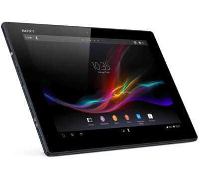 klientów tablety Sony wyświetlacz w Sony